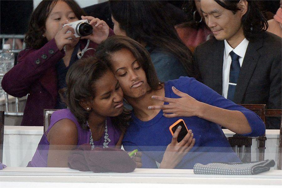 Sasha e Maila Obama