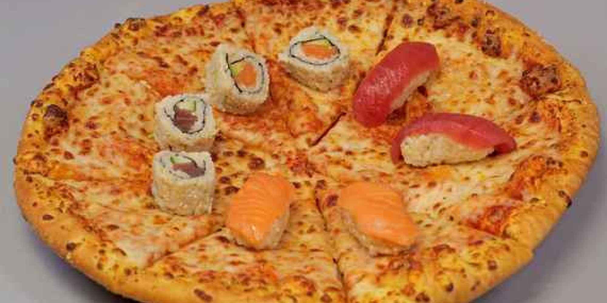 Sushi o pizza