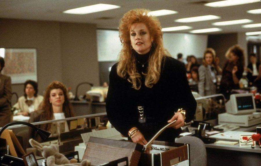 """Foto di scena di """"Una donna in carriera"""""""