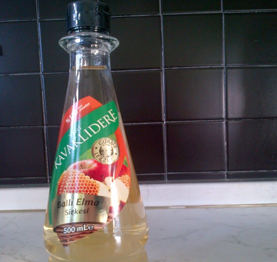 Aceto di mele con miele