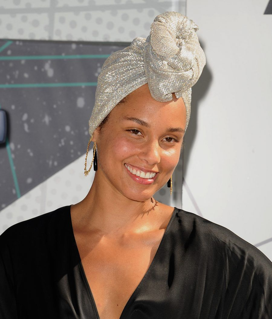 LOS ANGELES, CA - JUNE 26: Singer Alicia Keys attends the 2016 BET Awards at Microsoft Theater on June 26, 2016 in Los Angeles, California. (Photo by Jason LaVeris/FilmMagic)