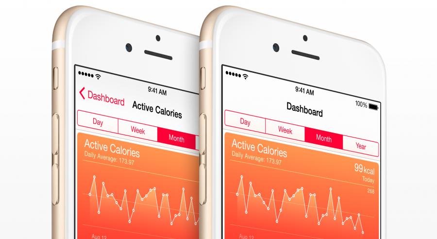 La Health app di Apple.