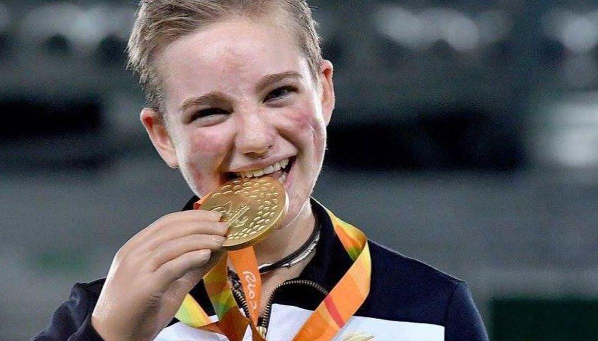 La medaglia d'oro!