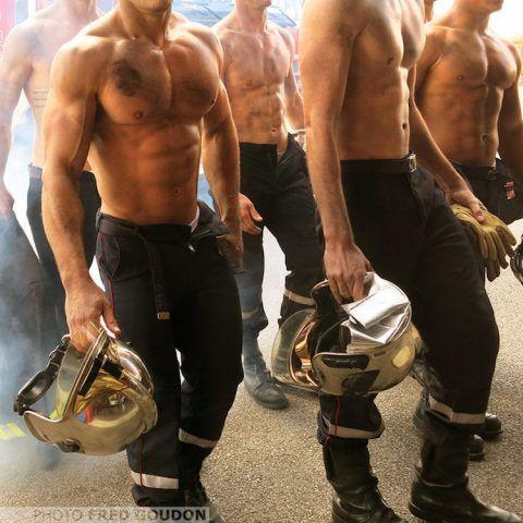 Calendario 2017 dei pompieri francesi