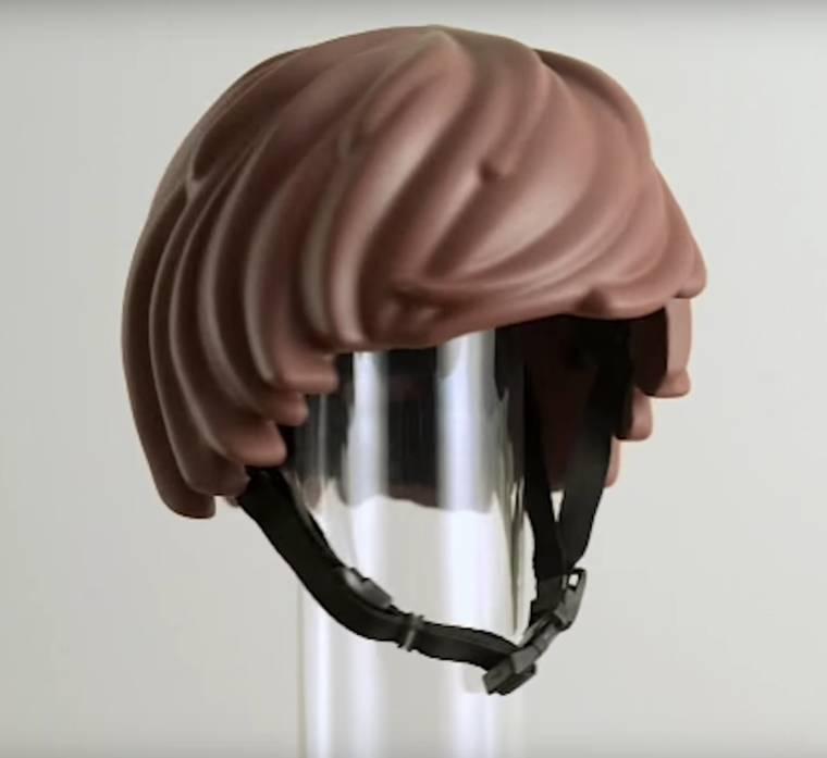 Sembra proprio una parrucca!