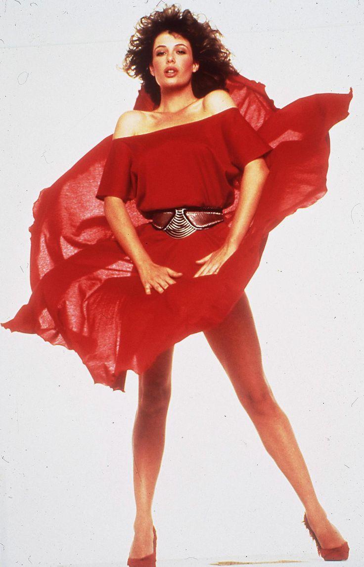 KELLY LE BROCK STARRING IN WOMAN IN RED - 1998