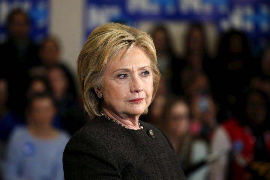 La candidata Hillary Clinton