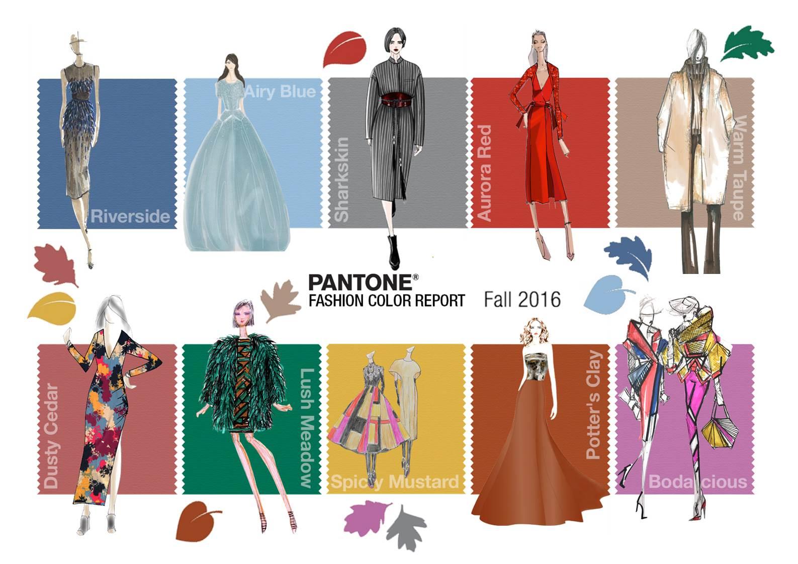 brand new 1b52b ba33c I 10 colori Pantone di moda per l'Autunno – Inverno 2016 ...