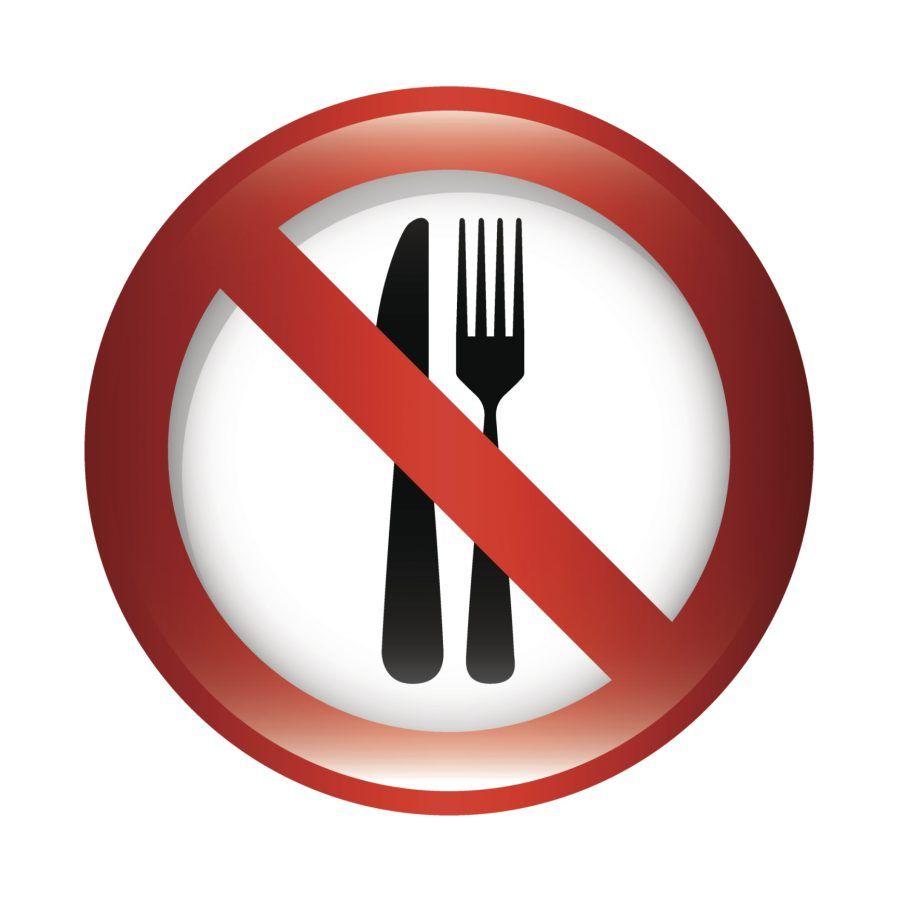 vietato mangiare... vietato mangiare? ma scherziamo?!