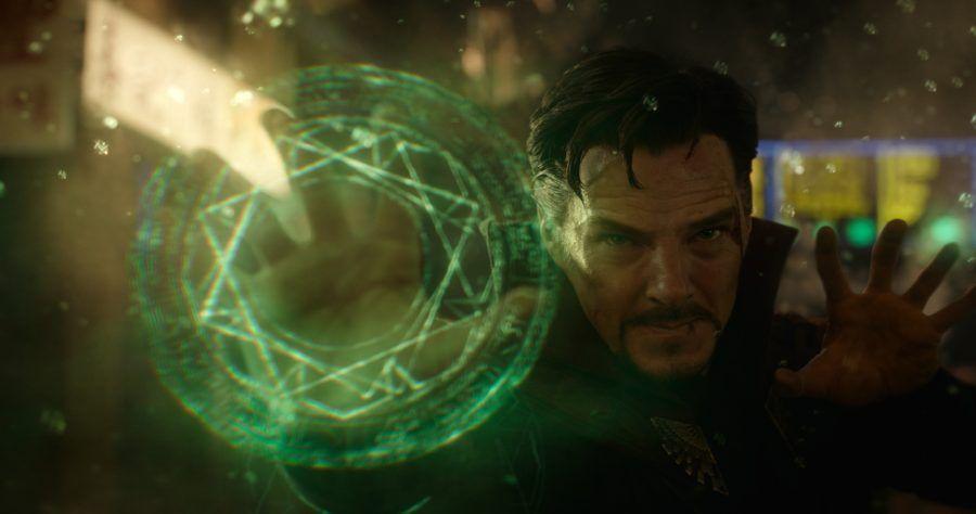 Doctor Strange interpretato da Benedict Cumberbatch