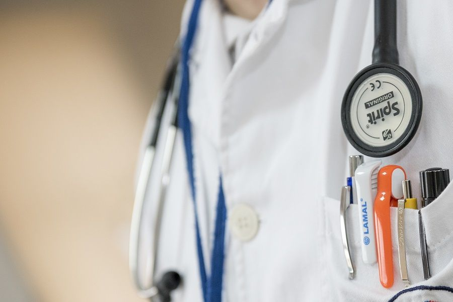 Visita dal medico ginecologo