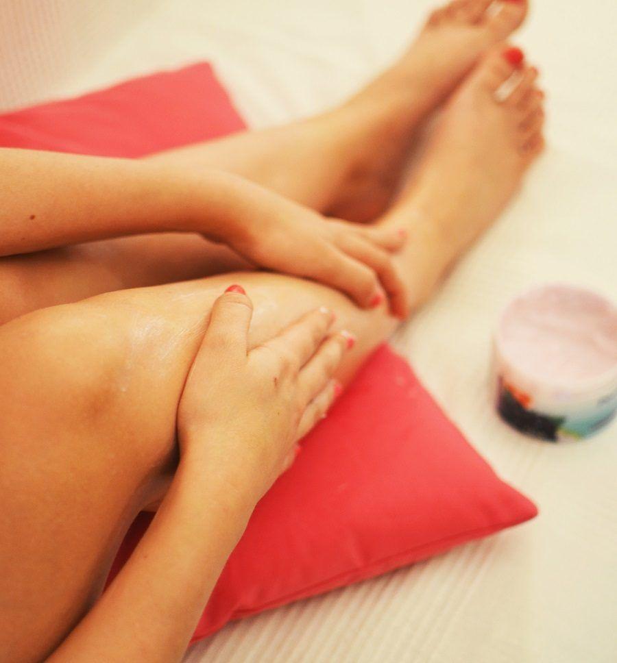 Come idratare le gambe