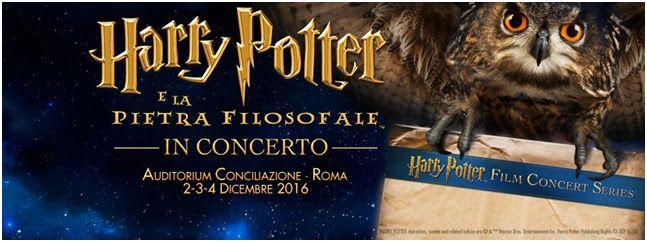 Il Cine-Concerto Harry Potter e la Pietra Filosofale