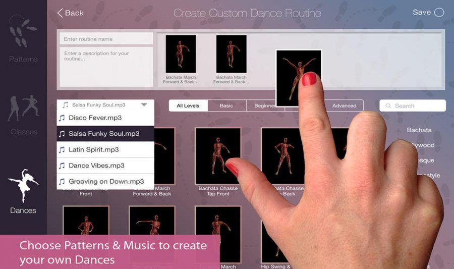 iDance è la App che ci fa ballare.