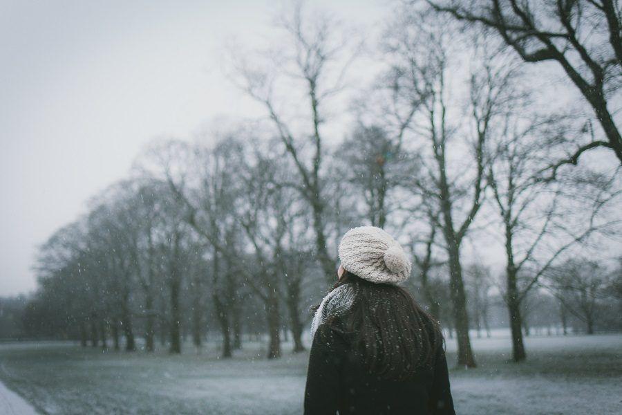 Il freddo dell'inverno non invoglia a fare attività fisica