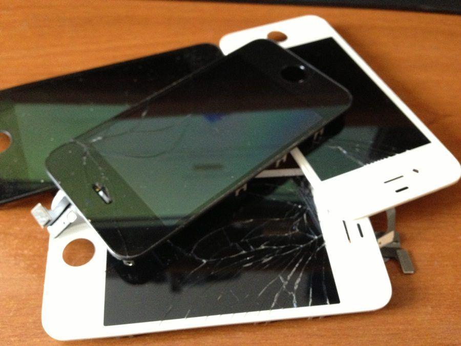 iPhone rotti dopo una caduta