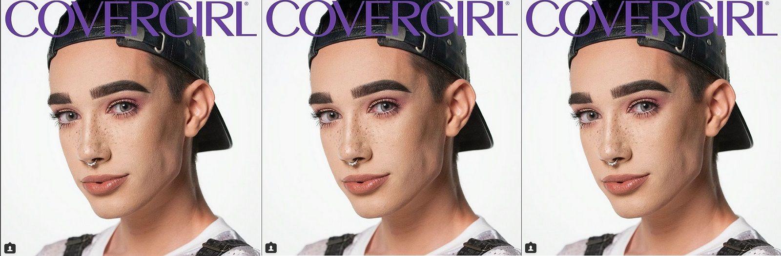 Il primo uomo testimonial di un'azienda di make up