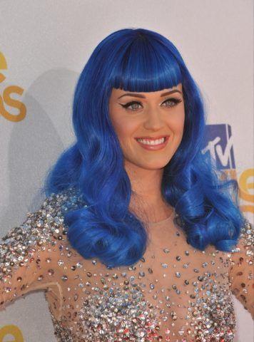 Katy Perry con i capelli blu?