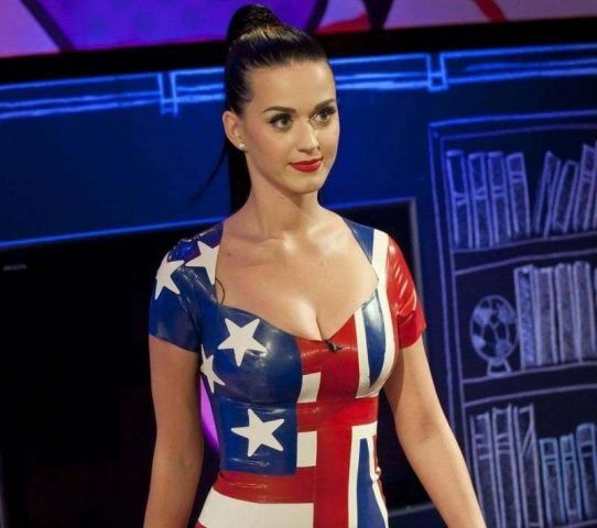 Katy Perry a stelle e strisce