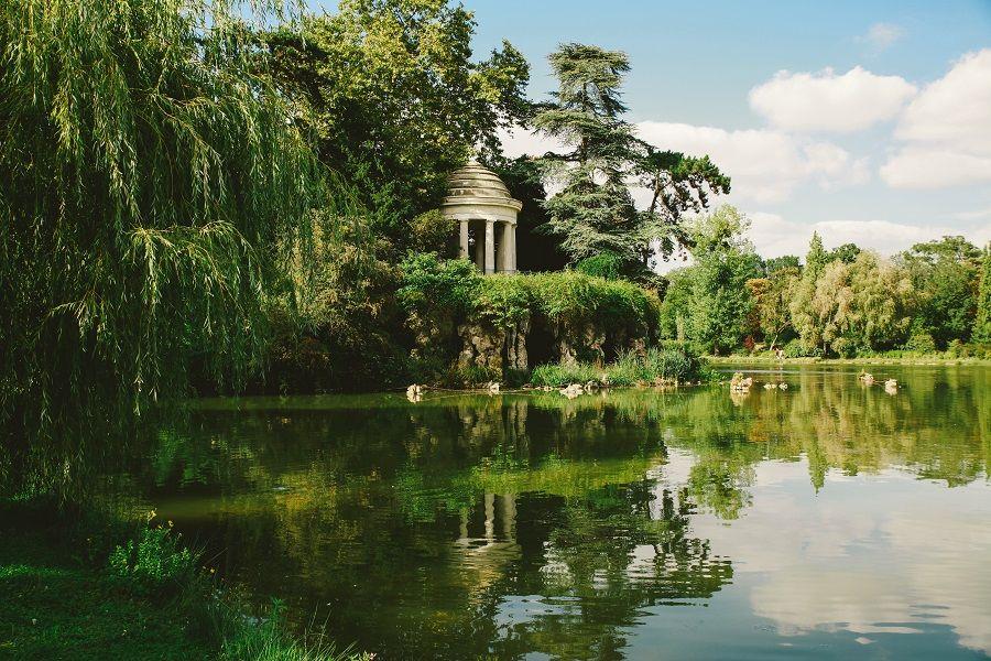 Il lago Daumesnil vicino a Parigi