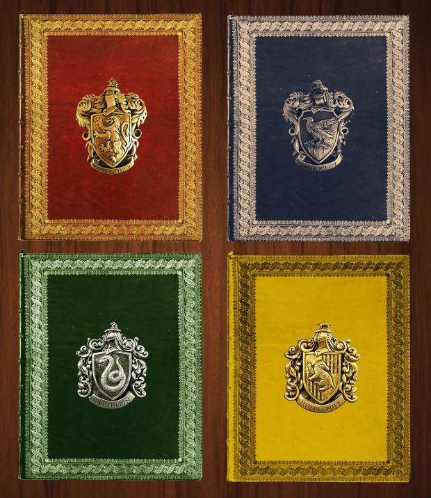 Il make up dedicato alle 4 case di Hogwarts