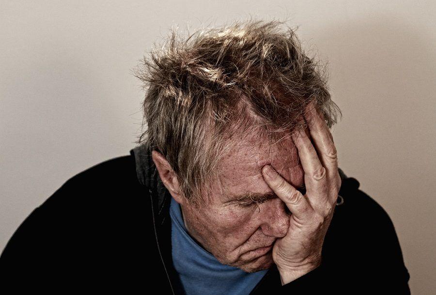 Un attacco di mal di testa