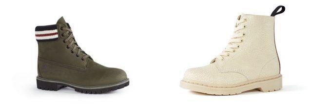 Marni per Zalando, le scarpe Timberland e Dr. Marten's