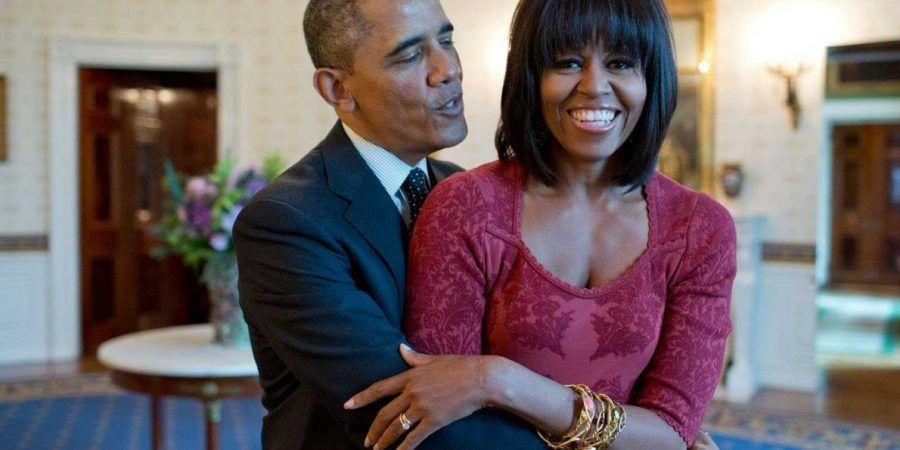 Michelle e Barack Obama innamoratissimi...