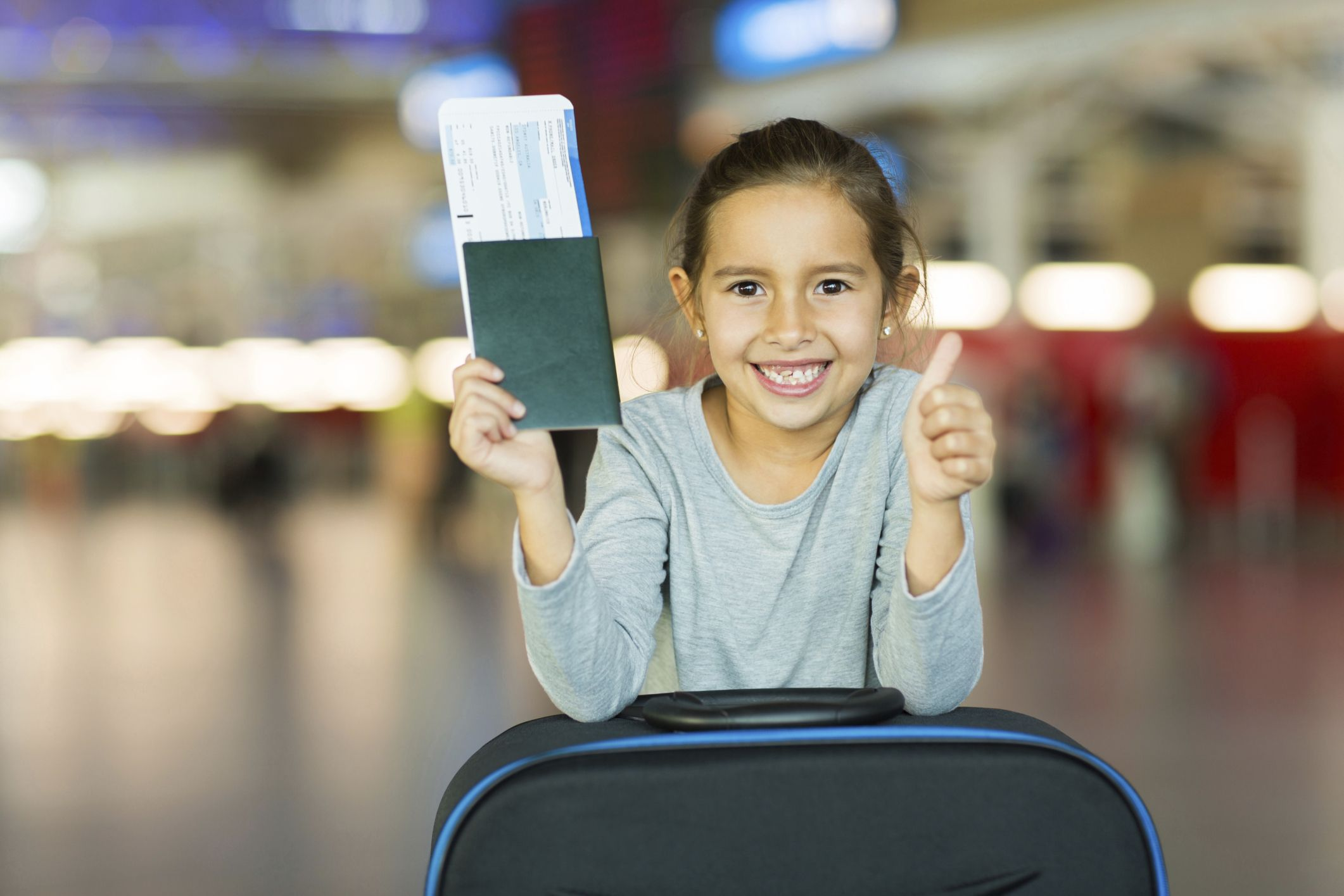 Bambini non accompagnati in aereo, come funziona