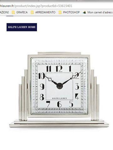 Orologio Athena Art Decò 1.260,00 euro