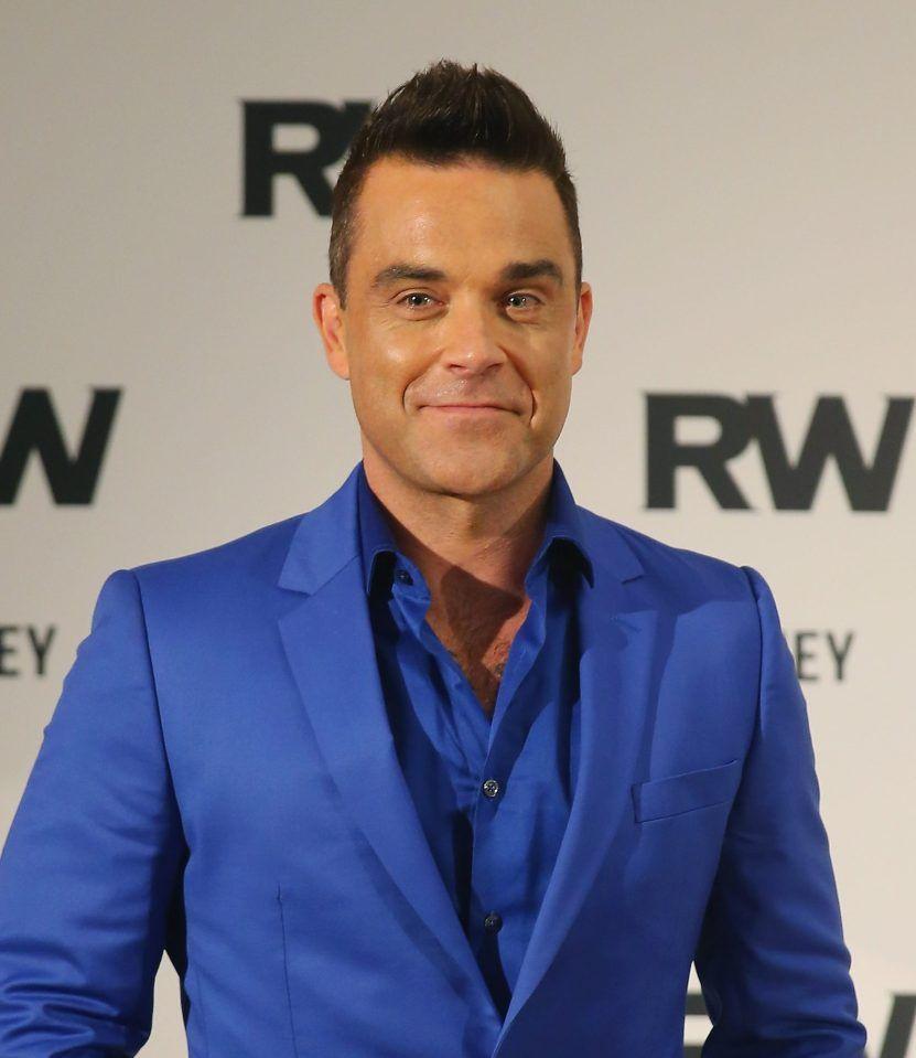 Robbie Williams oggi