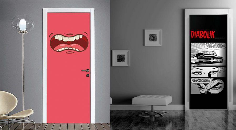 Come decorare le porte di casa bigodino - Decorare le porte ...