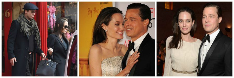 Le ultime immagini di Brad e Angelina assieme.