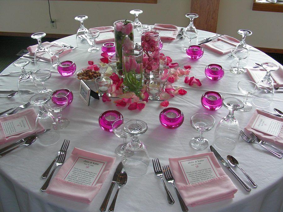 Matrimonio con tavoli singoli