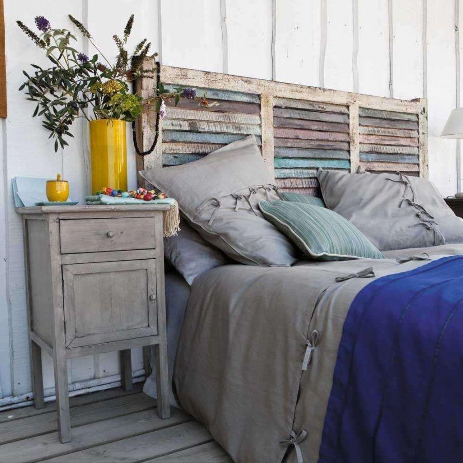 Testiera da letto-persiana