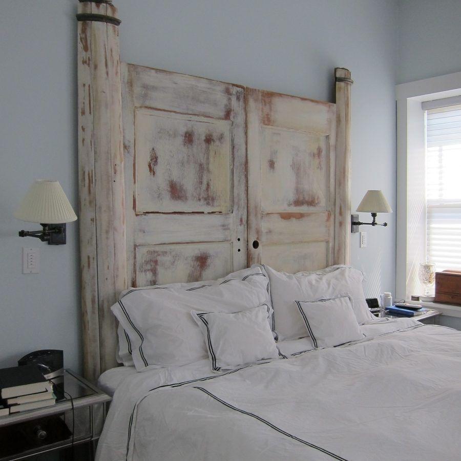 Testiera del letto con porta