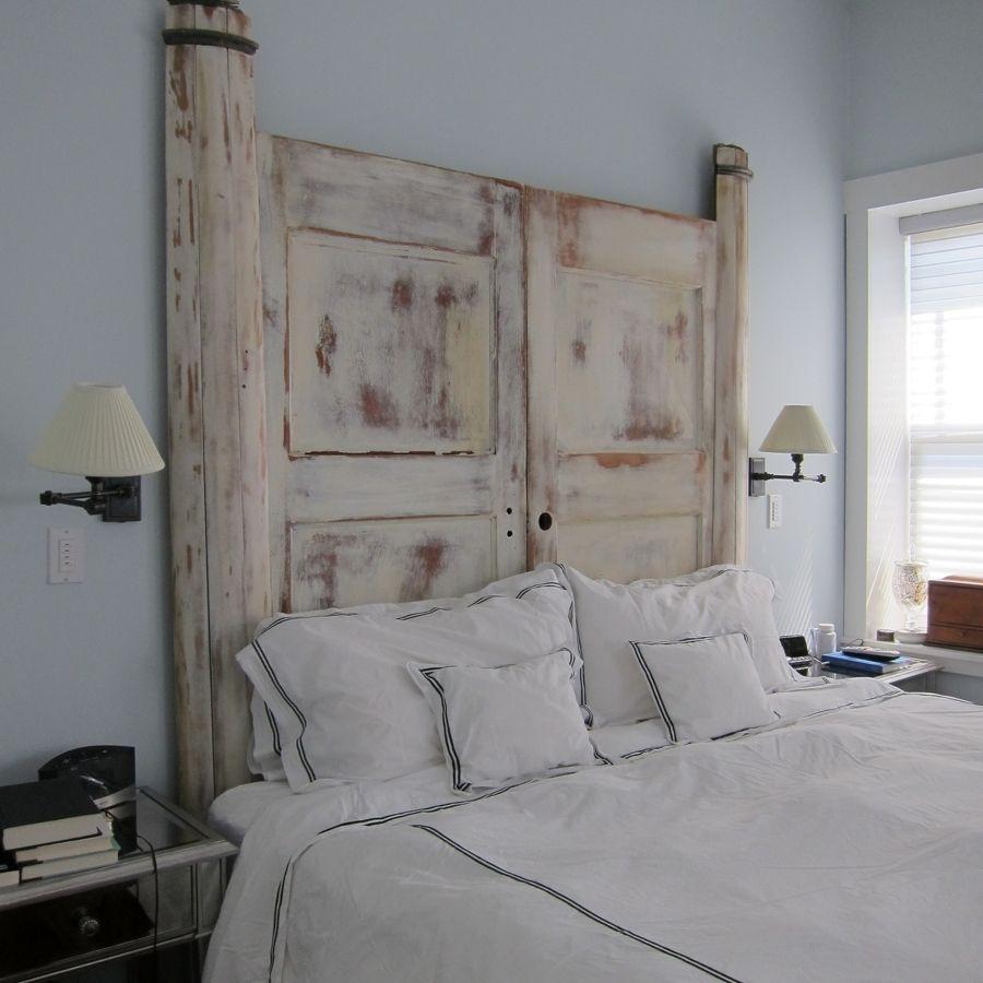 Idee creative per testiere del letto fai da te immagine - Idee per testiera letto ...