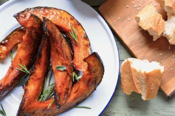 La ricetta della zucca arrosto
