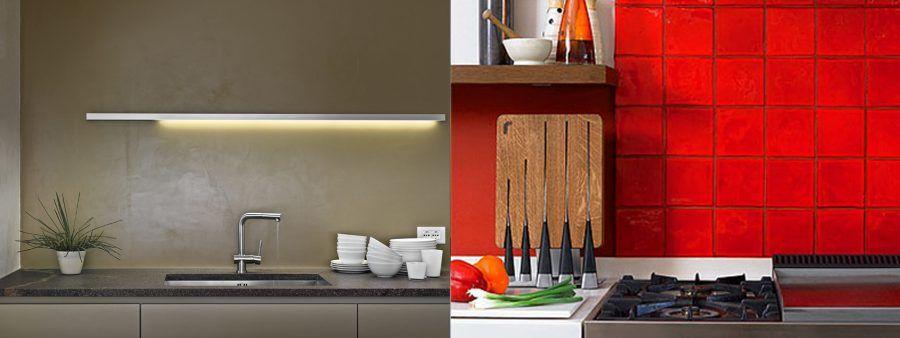 Paraschizzi originali per un nuovo look al piano cucina ...