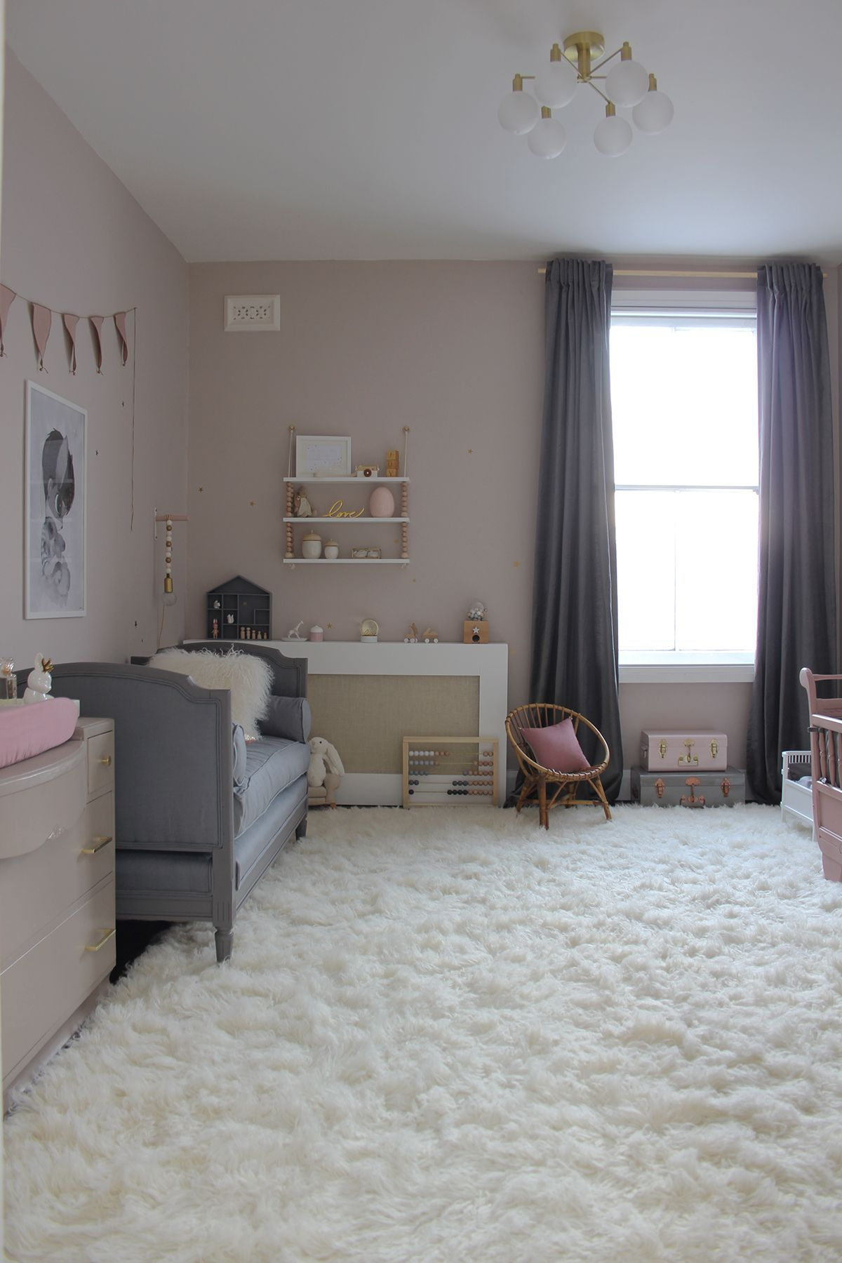 Nursery giocosa e stravagante