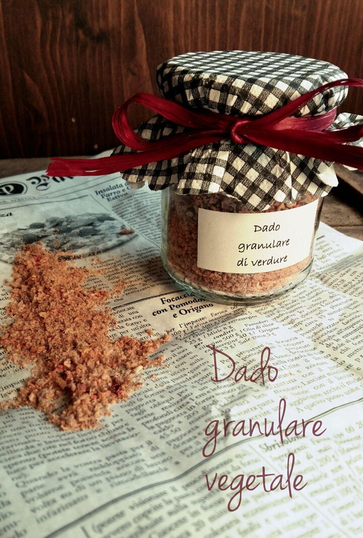 Dado granulare vegetale homemade