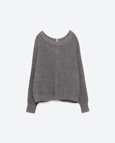 Pullover con cerniera sulla schiena 29,95 €