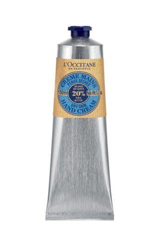 Crema mani karité di L'Occitane con burro di karitè, estratti di miele e olio di noce di cocco