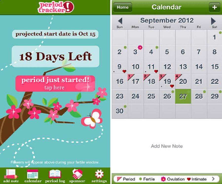 2- App period-tracker