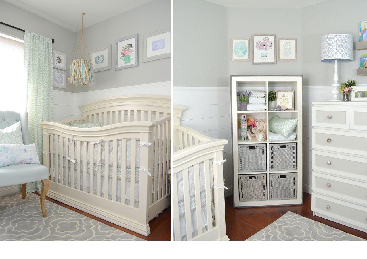 Nursery rustica e glamour