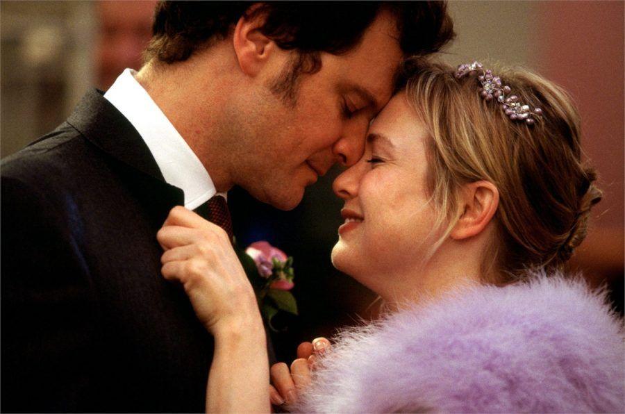 Colin Firth nel film Il Diario di Bridget Jones