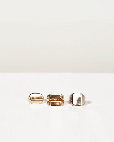 Set di 3 anelli 15,95 €