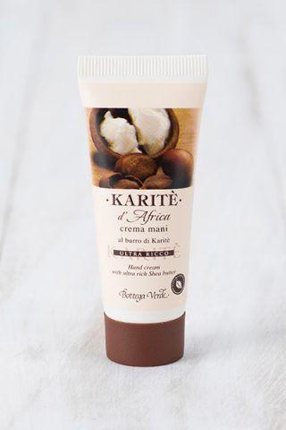 Crema mani Karité d'Africa di Bottega Verde