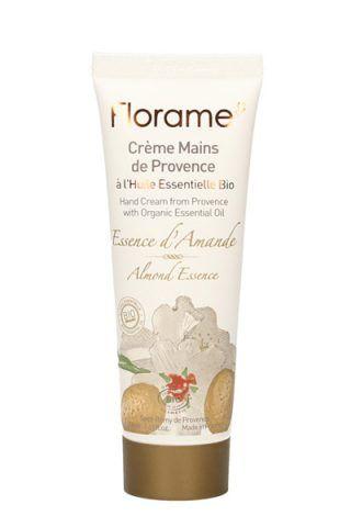 Crema mani Essenza di Mandorla di Florame con burro di karité e olio di sesamo