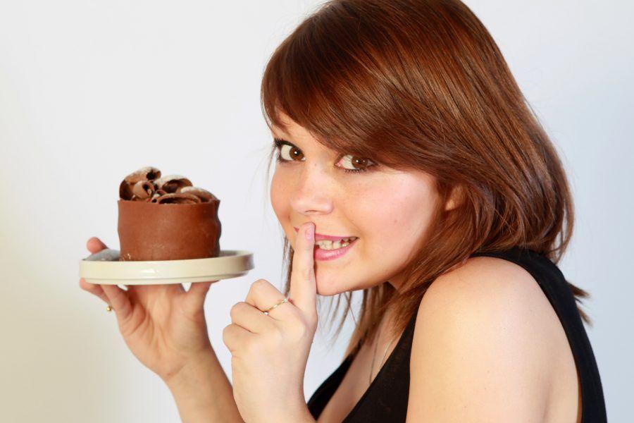 ...se nessuno ti vede, le calorie non si accumulano!